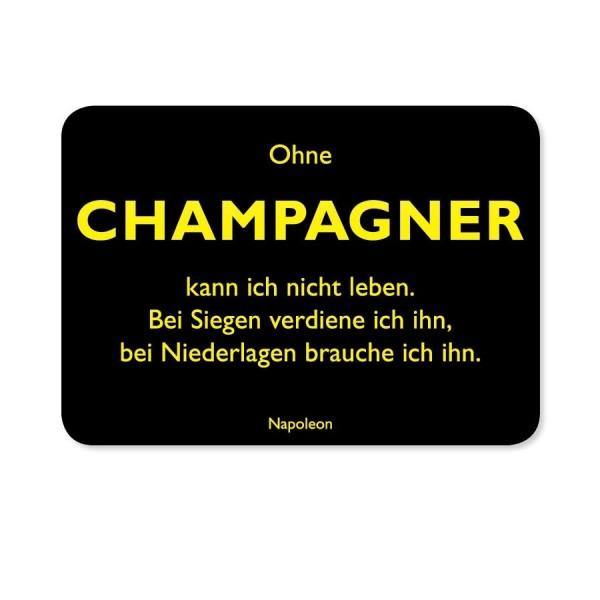 CEDON Postkarte Napoleon Champagner