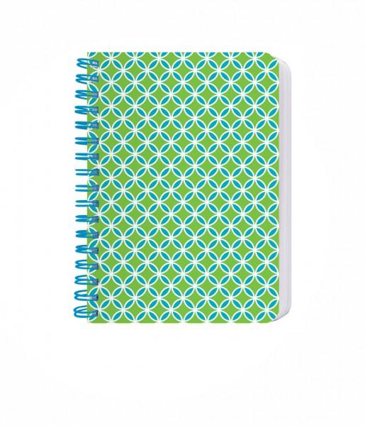 Ringbuch Kachel grün-blau | CEDON