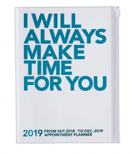 Mark's Kalender 2019 Time türkis