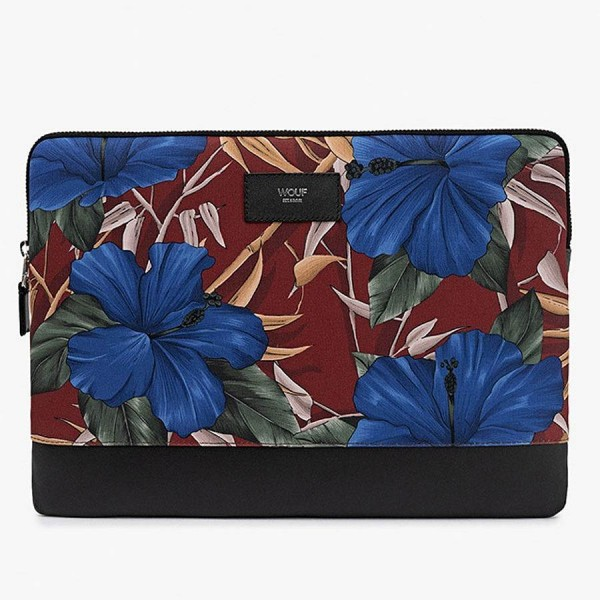 "Laptophülle 13"" Hibiscus"