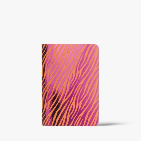 CEDON Heft A6 Metallic Zebra orange