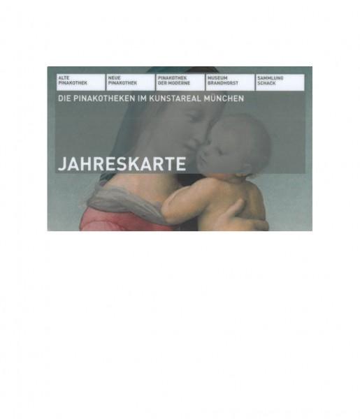 Jahreskarte Bayr. Staatsgemäldesammlungen