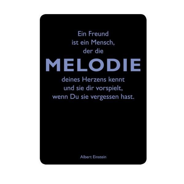 CEDON Postkarte Einstein Melodie