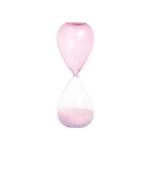 &klevering Sanduhr Conical pink