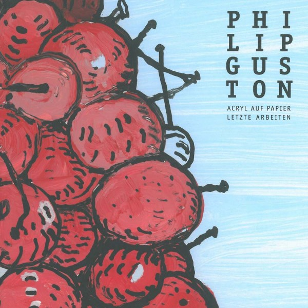 Guston, Philip. Acryl auf Papier