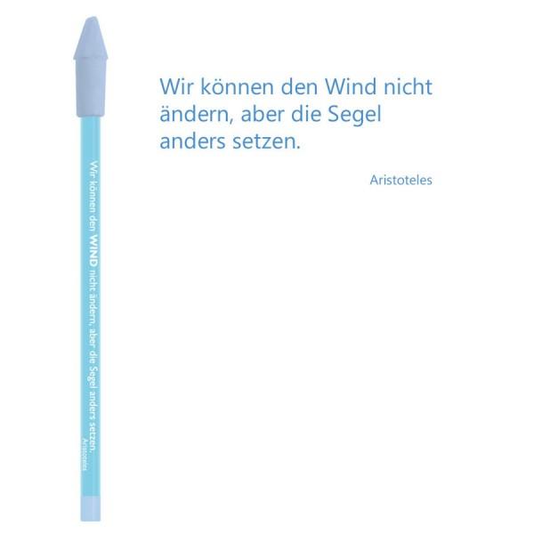 CEDON Bleistift blau - Aristoteles Wind