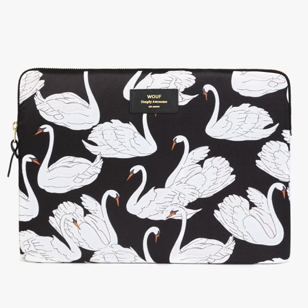 "Laptophülle 13"" Swan"