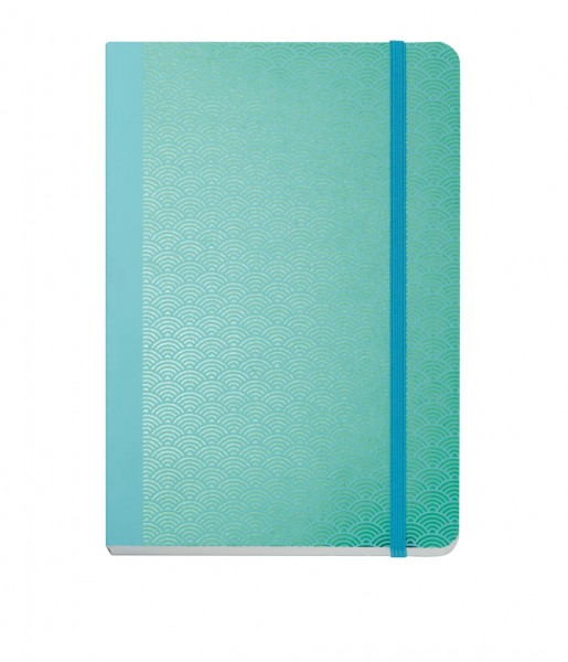 Notizbuch Metallic Wave green DIN A5 | CEDON