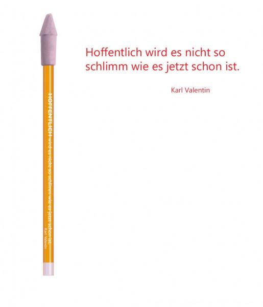 Bleistift rot Hoffentlich | CEDON