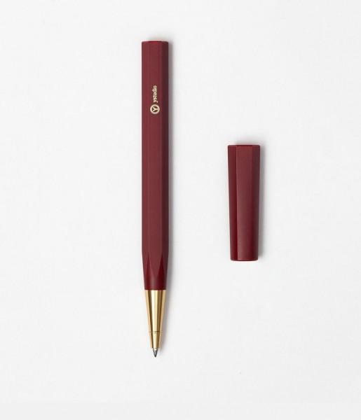 Kugelschreiber Resin rot | ystudio