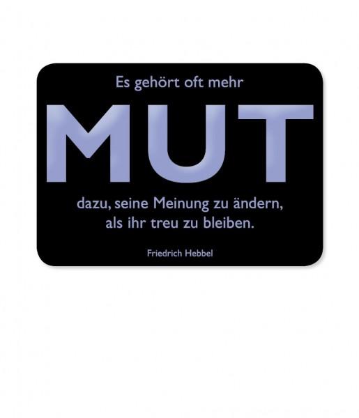 Postkarte Hebbel Mut | CEDON