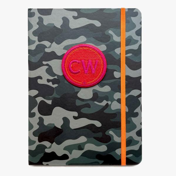 Kalender 2022 Camouflage mit Initialen Patch