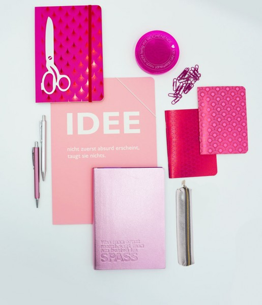 Schreibset Metallic rosa   CEDON