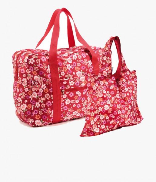 Taschenset Blüten rot | CEDON