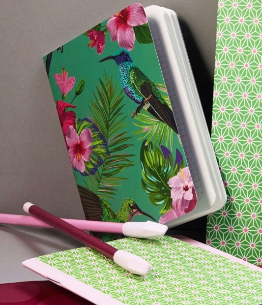 Heft Flower Bird DIN A6 | CEDON