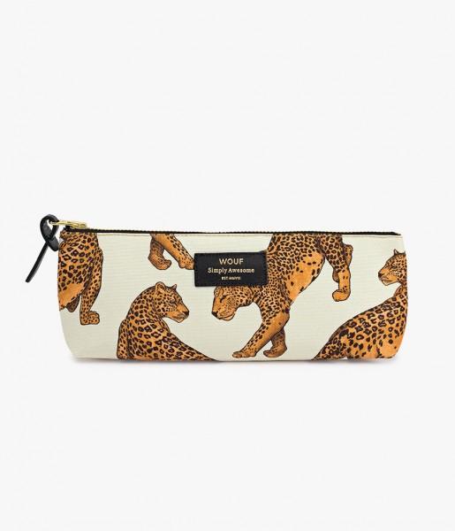 Federmäppchen Leopard hellbraun | WOUF