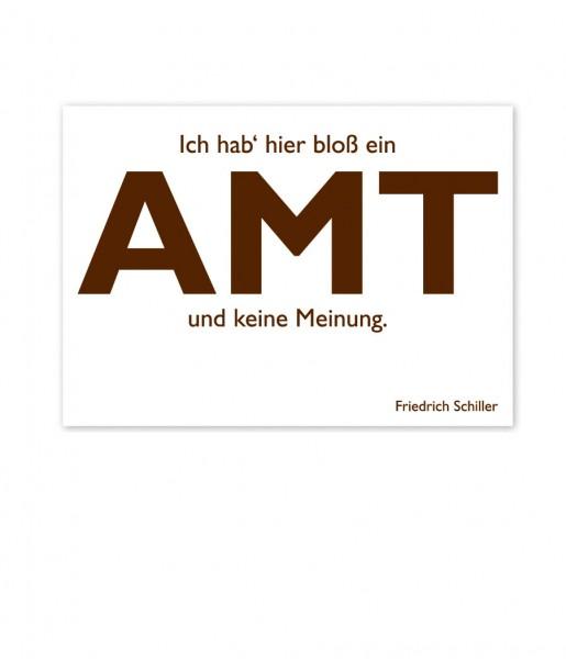 Postkarte Schiller Amt | CEDON