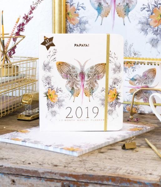 Papaya! Kalender 2019 Butterfly