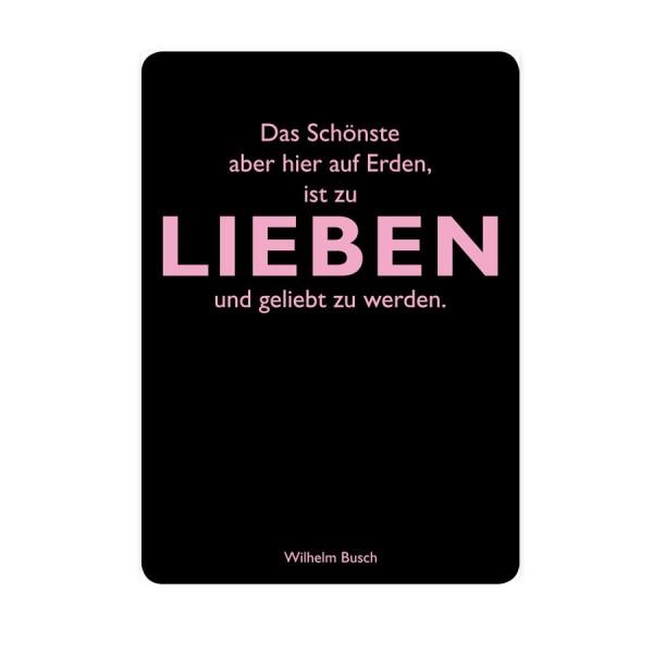 CEDON Postkarte Busch Lieben