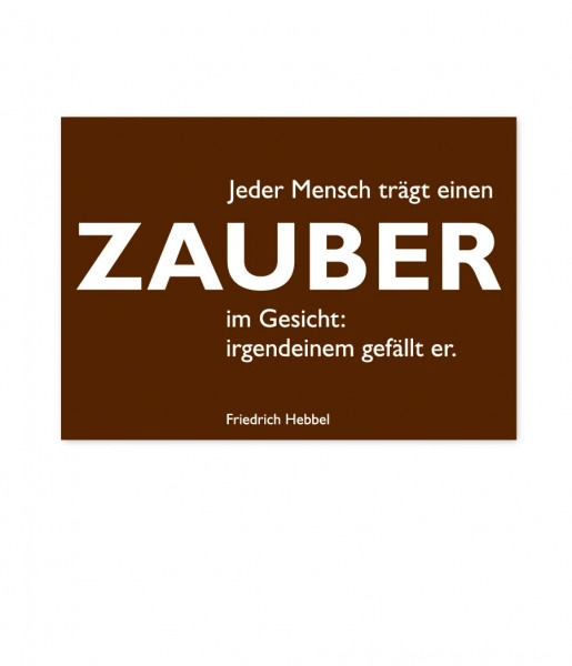 Postkarte Hebbel Zauber | CEDON