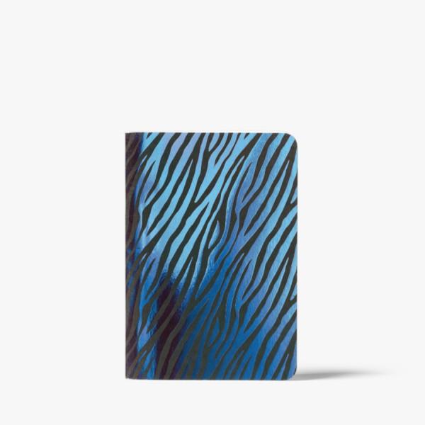 CEDON Heft A6 Zebra blue