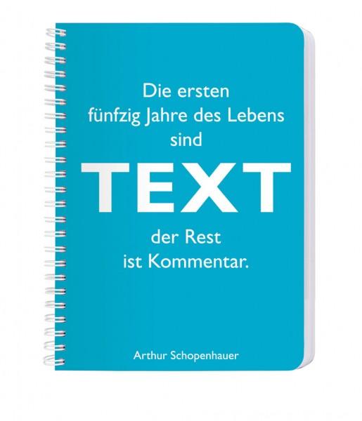 CEDON Ringbuch DIN A5, Schopenhauer, Text