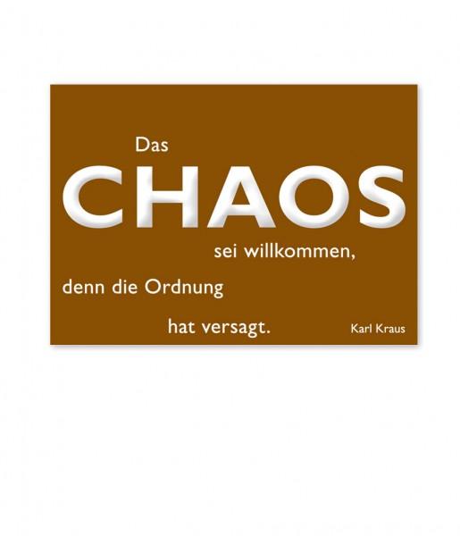 Postkarte Kraus Chaos | CEDON